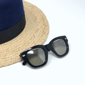 Acne Studios Oversized Library Sunglasses Black